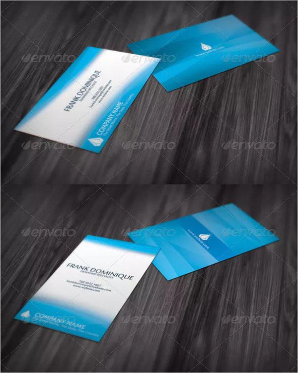 Unique Jewelry Business Card Design