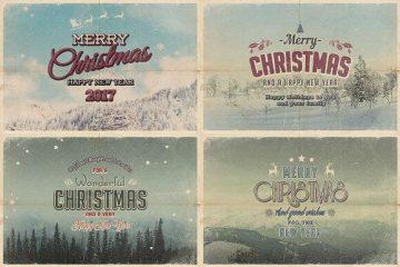 Vintage Christmas Cards 1