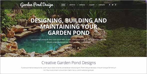 Vintage Gardening Website Template1
