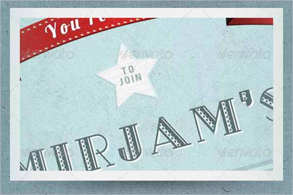 Vintage Postcard Design Example