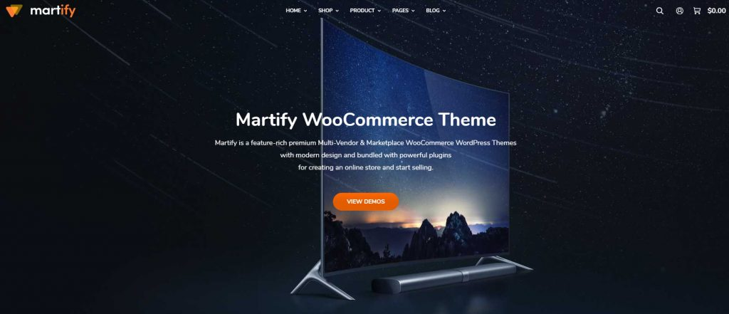 WooCommerce Marketplace WordPress Theme
