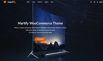 WooCommerce Marketplace WordPress Theme pics