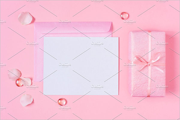 blank postcard party design