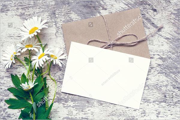 blank postcard printable design