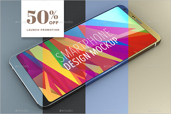 customize Android Smartphone Design Mockup