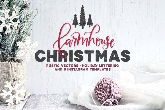 Farmhouse Christmas Lettering Kit