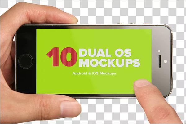 iOS & Android Mockup Design