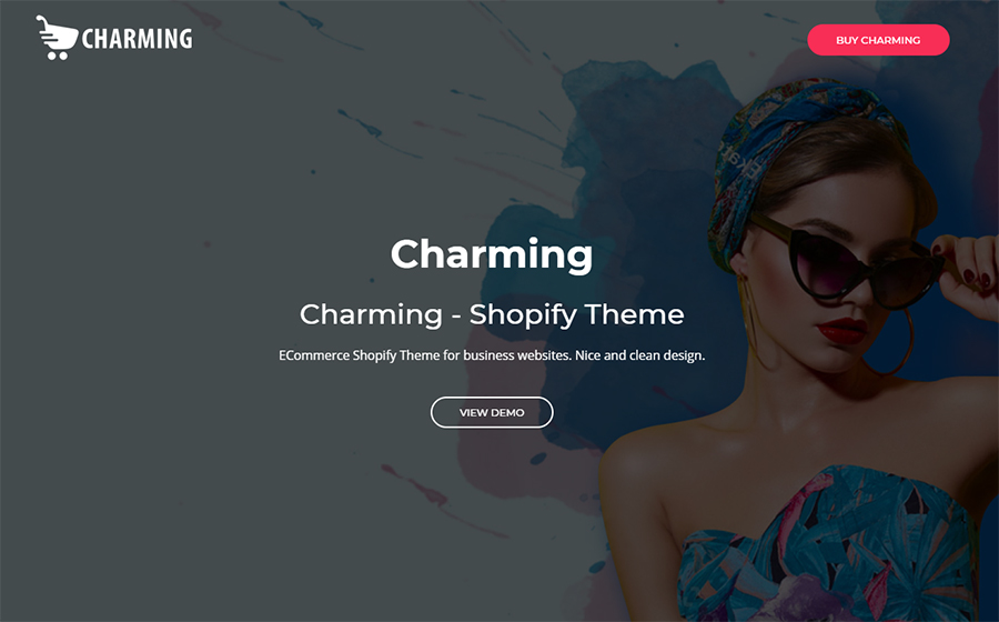 Charming - Fashion eCommerce Shopify Theme