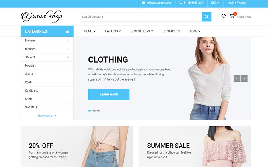 Grand Shop - Shopify Theme