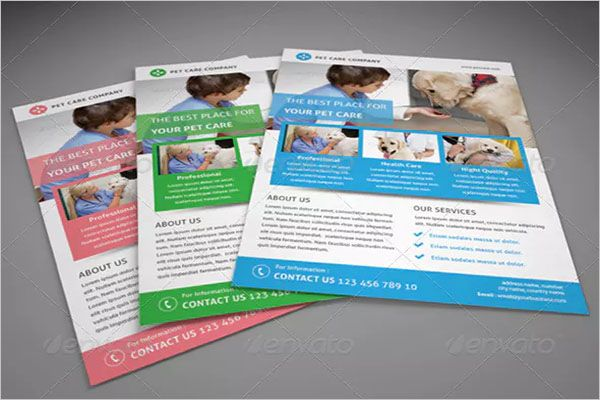 Abstract-Dog-Service-Flyer-Design