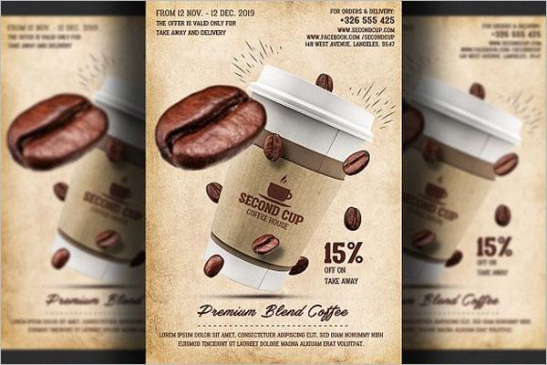 Best Coffee Shop Flyer Design