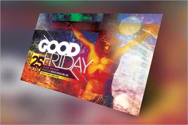 Best Good Friday Flyer Design
