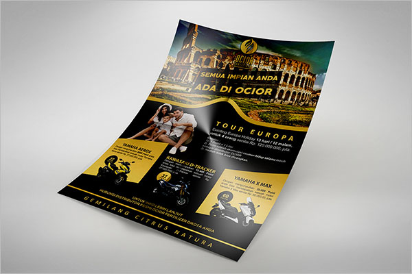 Branding Company Reward Flyer Design