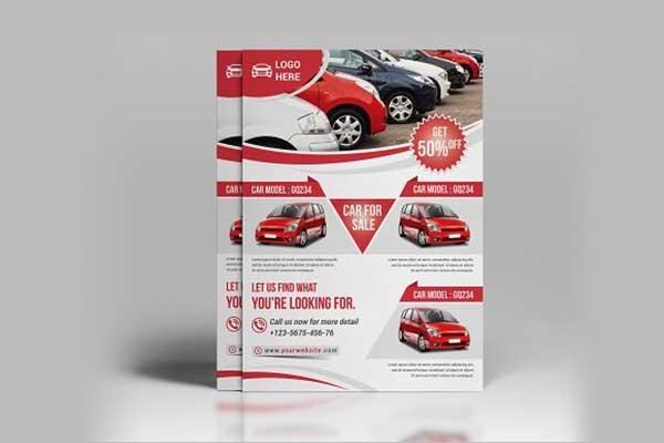 Car Sale Flyer Design