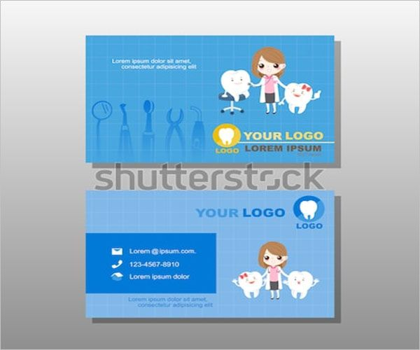 Children-Dental-Care-Business-Card