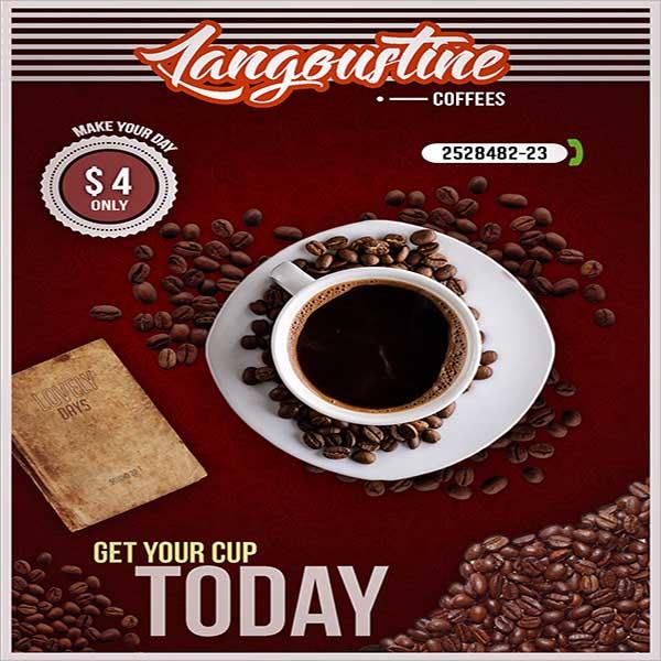 Coffee Shop Flyer Design Example