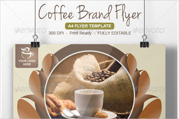 Coffee Shop Flyer Template Design