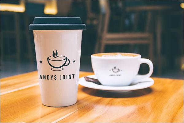Coffee Shop Magazine Flyer Design