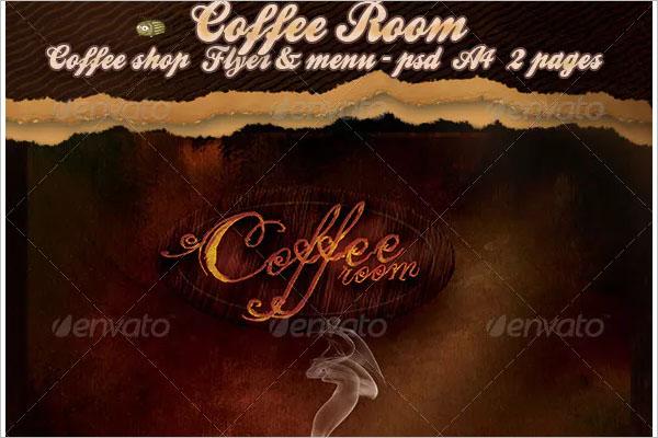 Coffee room-Coffee Shop Flyer
