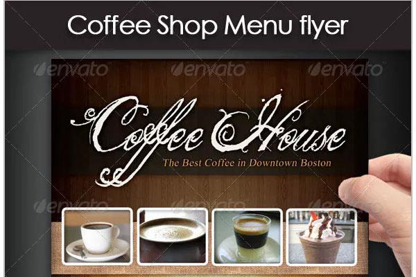 Coffee shop Brands sales flyer