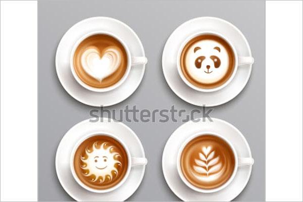 Coffee shop event flyer design