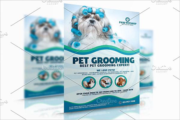 Commercial Dog Service Flyer
