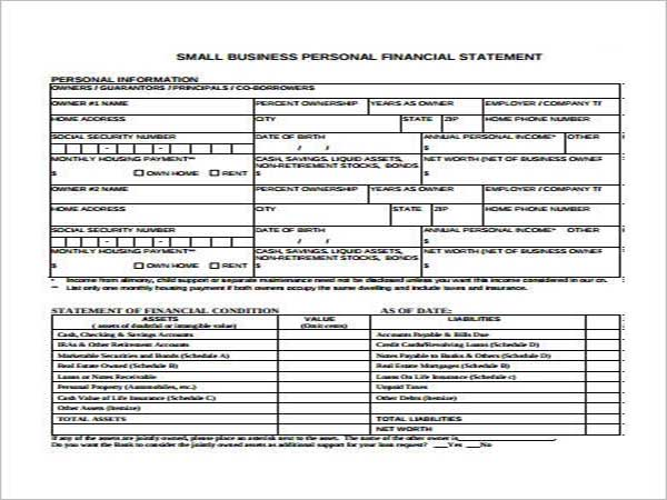 Company Income Statement Template