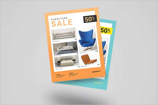 Company Sales Flyer Design