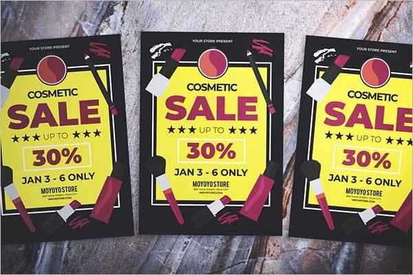 Cosmetic Sales Flyer