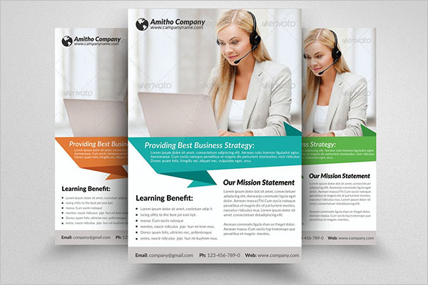 Creative Computer Training Flyer Template
