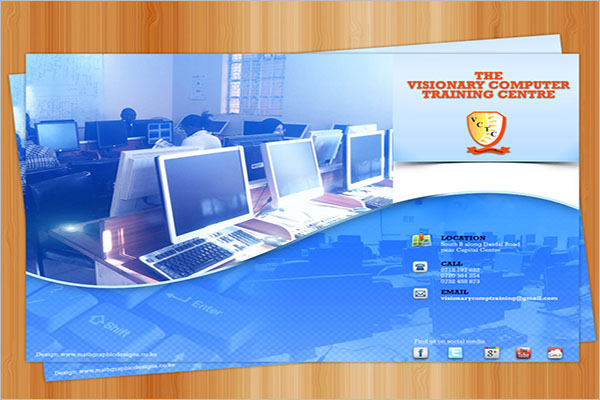 Customize Computer Training Flyer Templates