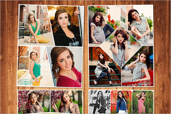 Designer Photo Collage Flyer Template