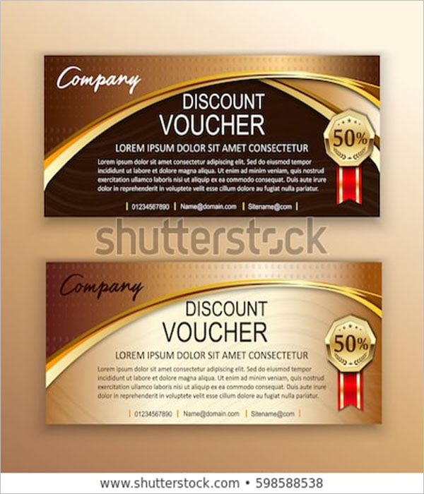 Discount Voucher Reward Flyer