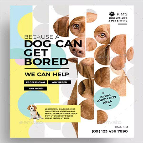 Dog-Service-Awesome-Flyer-design