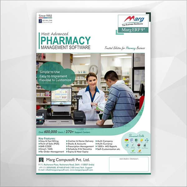 Drug Pharmacy Flyer