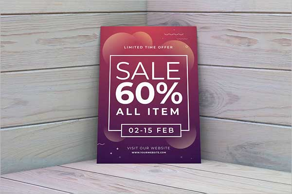 Event Sales Flyer Design