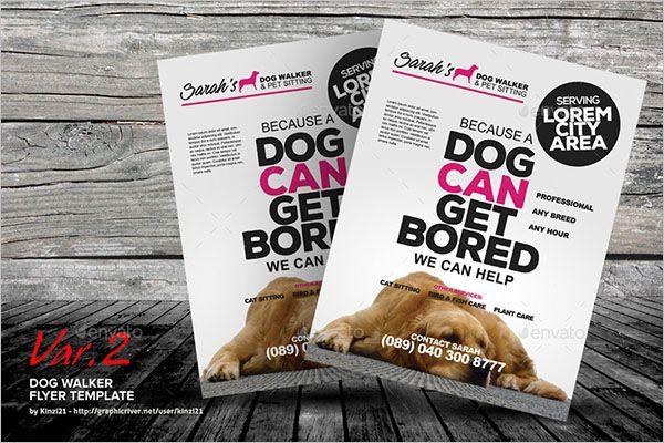 Exclusive-Dog-Service-Flyer-design