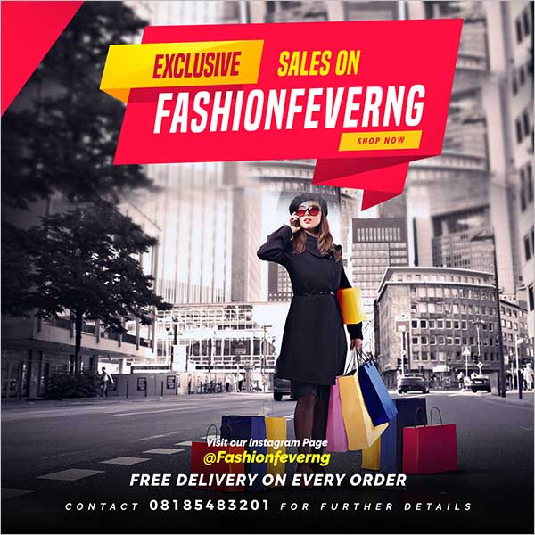 Exclusive Sale Flyer Design