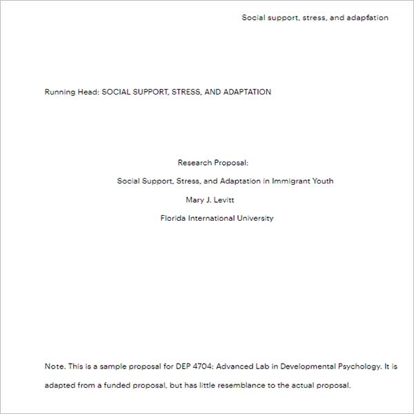 Free Business Research Proposal
