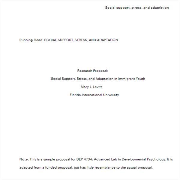 Custom research proposal