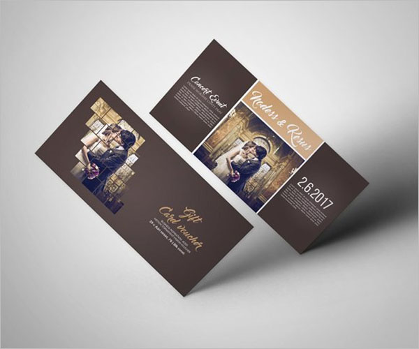 Gift Voucher Reward Flyer Design