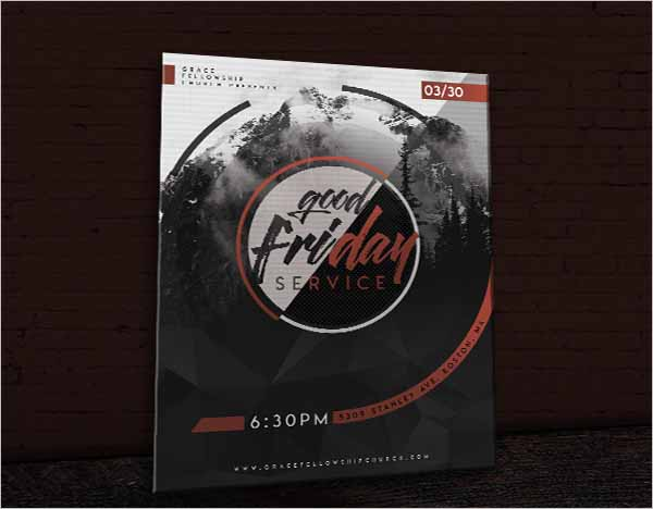 Global Good Friday Flyer Design