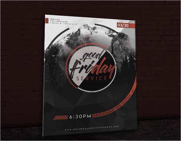 Global Good Friday Flyer Design