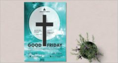 15+ Good Friday Flyer Designs