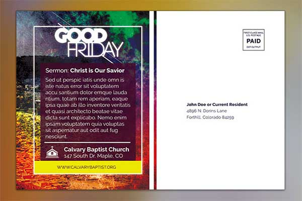 Good Friday Flyer Design Free Download