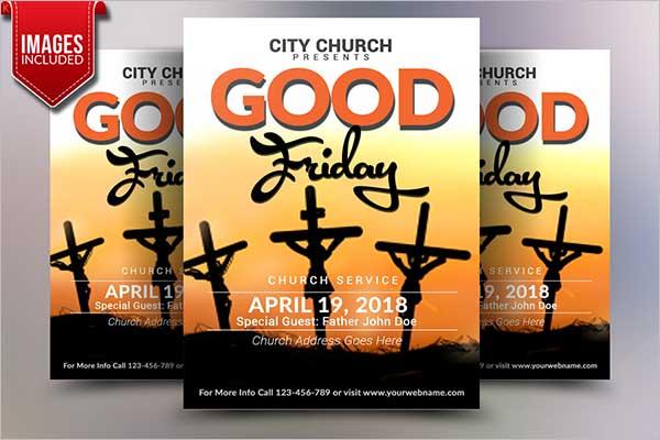 Good Friday Flyer Design Ideas