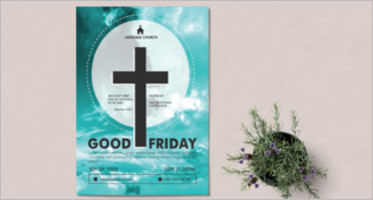 Good Friday Flyer Design
