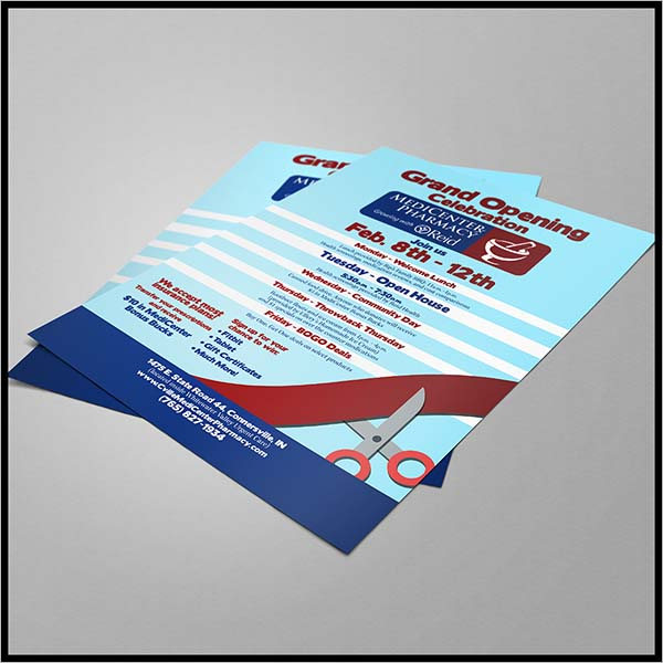 Health Store Pharmacy Flyer