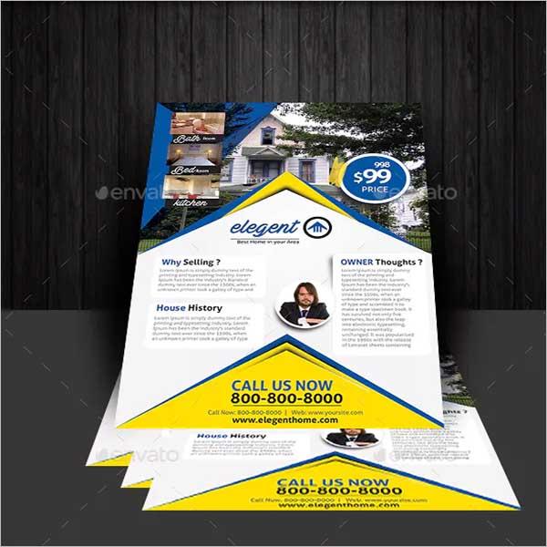 House Sale Flyer Design