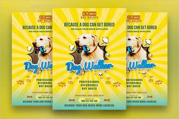 Latest-Dog-Service-Flyer-Design